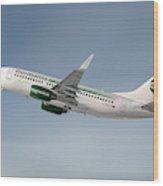 Germania Boeing 737-76j Wood Print