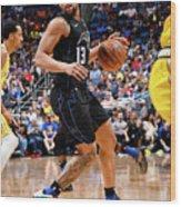 Golden State Warriors V Orlando Magic Wood Print