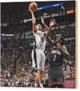 Houston Rockets V San Antonio Spurs - Wood Print