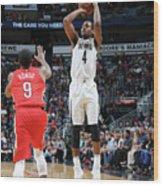 Memphis Grizzlies V New Orleans Pelicans Wood Print