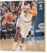 New York Knicks V Dallas Mavericks Wood Print