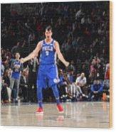 Philadelphia 76ers V New York Knicks Wood Print