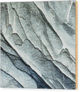 Rocky Background Wood Print