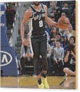 San Antonio Spurs V Golden State Wood Print
