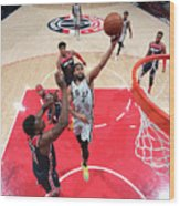 San Antonio Spurs V Washington Wizards Wood Print