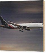 Titan Airways Boeing 767-36n Wood Print