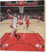 Washington Wizards V Chicago Bulls Wood Print