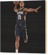 2017 Nba Rookie Photo Shoot Wood Print