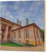 Arlington House Wood Print