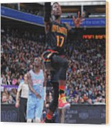 Atlanta Hawks V Sacramento Kings Wood Print