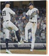 Boston Red Sox V New York Yankees - 6 Wood Print