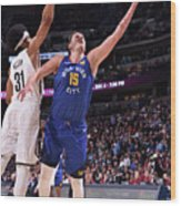 Brooklyn Nets V Denver Nuggets Wood Print