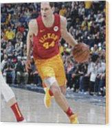 Brooklyn Nets V Indiana Pacers Wood Print