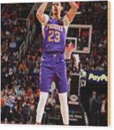 Brooklyn Nets V Phoenix Suns Wood Print