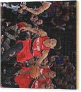 Brooklyn Nets V Portland Trail Blazers Wood Print