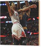 Cleveland Cavaliers V Chicago Bulls - Wood Print