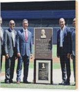 Cleveland Indians V New York Yankees Wood Print