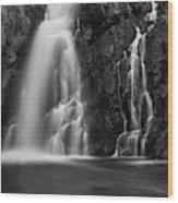 Hepokongas Waterfall Wood Print
