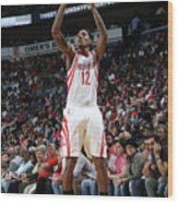 Houston Rockets V New Orleans Pelicans Wood Print