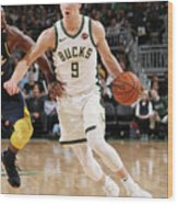 Indiana Pacers V Milwaukee Bucks Wood Print