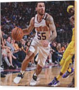 Los Angeles Lakers V Phoenix Suns Wood Print
