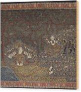 Mata Ki Pachedi Wood Print