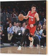 Miami Heat V Denver Nuggets Wood Print