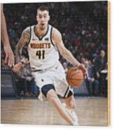 Milwaukee Bucks V Denver Nuggets Wood Print