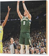 Milwaukee Bucks V Golden State Warriors Wood Print