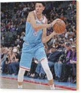 Minnesota Timberwolves V Sacramento Wood Print