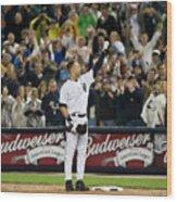 Mlb Sep 11 Orioles At Yankess - Derek 6 Wood Print