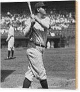 New York Yankees 6 Wood Print