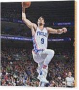 Philadelphia 76ers V Boston Celtics Wood Print