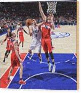 Philadelphia 76ers V Washington Wizards Wood Print