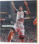 San Antonio Spurs V Houston Rockets - Wood Print