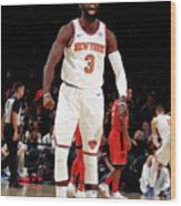 Toronto Raptors V New York Knicks Wood Print