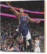 Washington Wizards V Boston Celtics - Wood Print