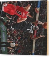 Brooklyn Nets V Chicago Bulls Wood Print
