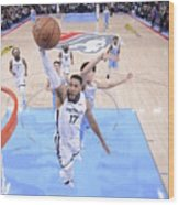 Memphis Grizzlies V Sacramento Kings Wood Print