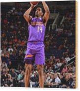 New Orleans Pelicans V Phoenix Suns Wood Print