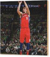 Philadelphia 76ers V Boston Celtics - Wood Print