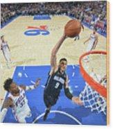Philadelphia 76ers V Orlando Magic Wood Print