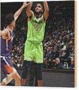 Phoenix Suns V Minnesota Timberwolves Wood Print