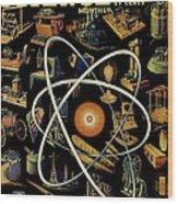 Popular Science Magazine Covers Wood Print