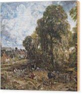 Stoke-by-nayland Wood Print