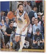 Utah Jazz V Golden State Warriors Wood Print
