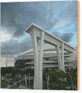 Washington Nationals V Miami Marlins Wood Print