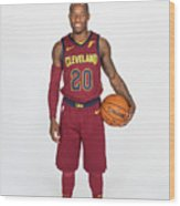 2017-18 Cleveland Cavaliers Media Day Wood Print