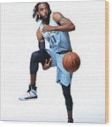 2018-19 Memphis Grizzlies Media Day Wood Print