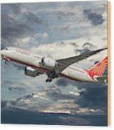 Air India Boeing 787-8 Dreamliner Wood Print
